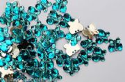 Wedding table decorations Aqua Butterfly Diamantes